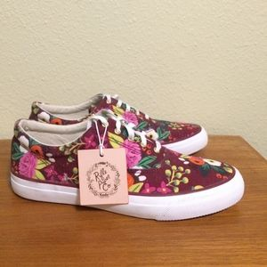 Keds x Rifle Paper Co. limited edition floral